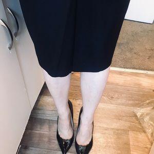 Yves Saint Laurent Skirts - YSL Black mid skirt size 38 ( US size 4 )